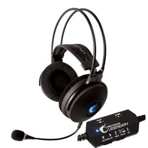 HEADPHONES GAMING HALFMMAN LEGENDARY 5IN1 , PC/PS3/XBOX/WII