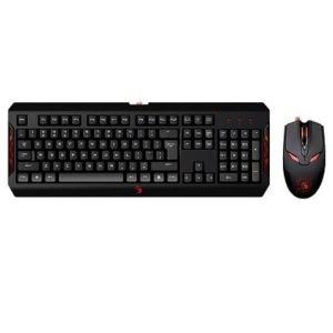 Teclado + Rato A4Tech Bloody Q1100 Blazing Gaming Teclado Q100 + Rato S2 Usb