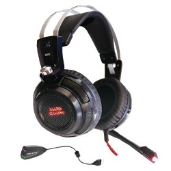Auscultadores MARS GAMING Headset 40mm Neodymiun Ultra-Bass Surround 7.1 USB Jack - MH316