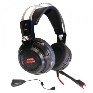 Auscultadores MARS GAMING Headset 40mm Neodymiun Ultra-Bass Surround 7.1 USB Jack - MH316