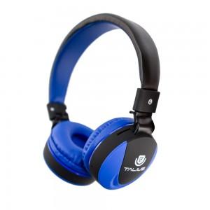 Auscultadores Bluetooth  HPH-5006BT C/ microfone FM Micro SD Azul